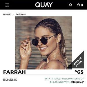 Quay Australia Sunglasses Farrah